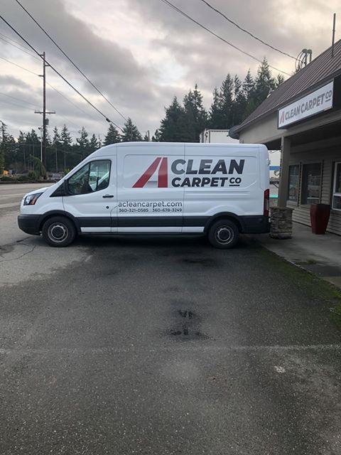 A Clean Carpet Co Van